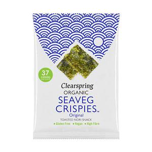 Organic Seaveg Crispies Original 8g