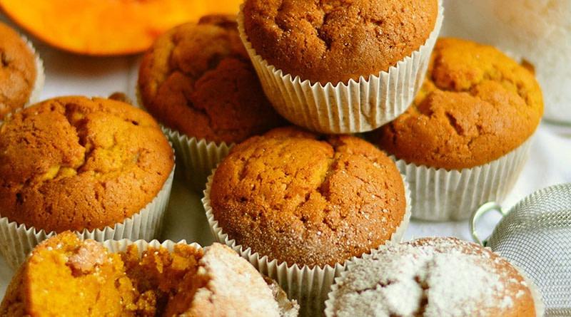 Kürbis Zucchini Muffins