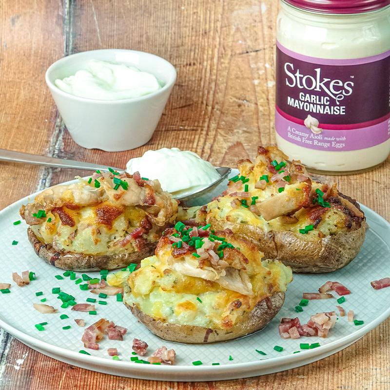 Rezept - Stokes Kartoffeln Garlic