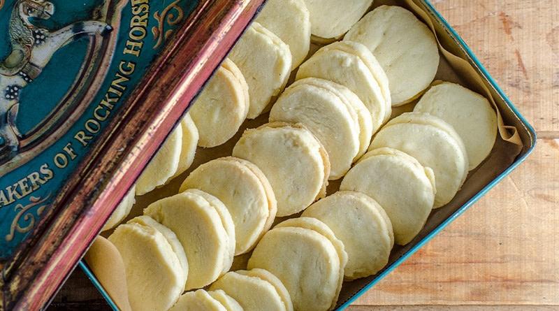 Vanille Sandwich Kekse