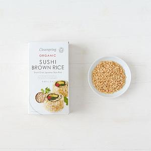 Brauner Sushi Reis mit Vollkorn in BIO Qualität!