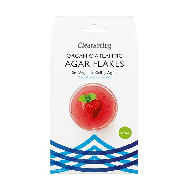 Organic Atlantic Agar Flakes 30g