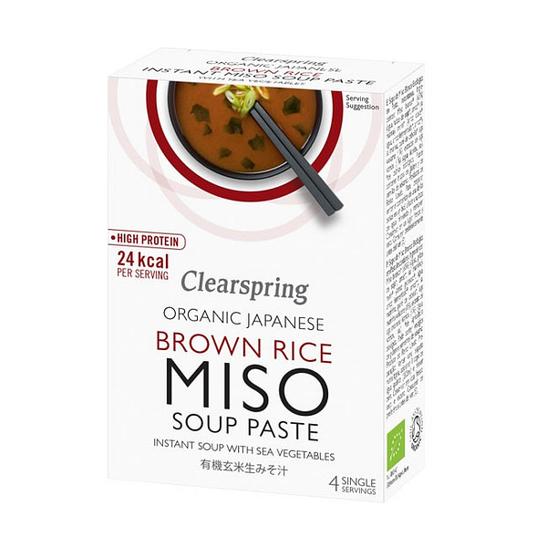 Organic Japanese Brown Rice Instant Miso Soup Paste 60g