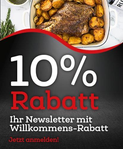 10% Rabatt- Newsletter Mobil