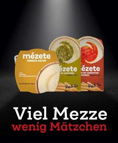 Viel Mezze wenig Mätzchen- Mezete - Hummus