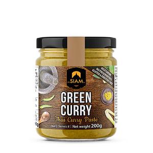 Grüne Thai Currypaste mit grünen Chili & Zitronengras von deSiam