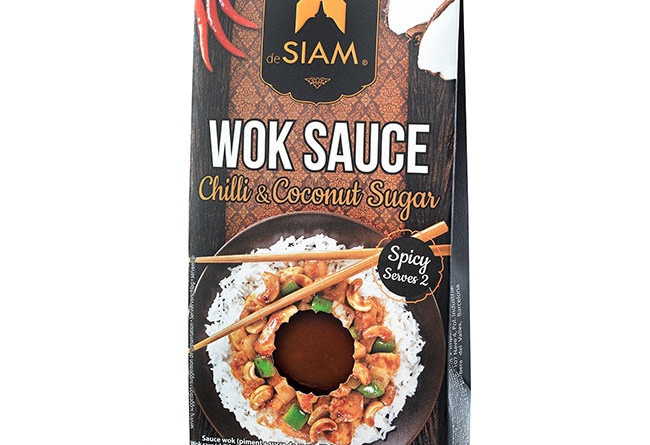 deSiam Wok-Sauce mit Chili & Kokoszucker