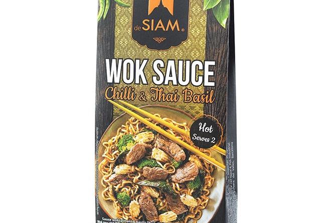 Wok-Sauce mit Chili & Thai-Basilikum von deSiam
