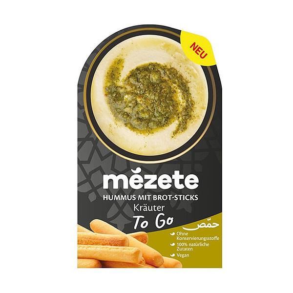 Mezete Hummus Dip & Go Kräuter 92g